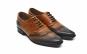 Pantofi Senator, din piele naturala atat exterior cat si pe interior, model in degrade - cod 117