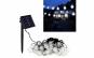 Instalatie Solara de exterior, cu 30 beculete LED, lumina Alba-Rece, 7 jocuri de lumini, senzor lumina