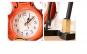 Vioara ceas, cu suport pix