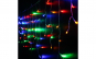 Set 2 Instalatii Craciun 3 metri franjuri, cu LED-uri ,culoare multicolor