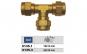 """Fiting tip T aer comprimat alama 3/8"""" filet exterior ADLER MA0135.1"""