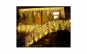 Set 2 Instalatii Craciun 3 metri franjuri, cu LED-uri ,culoare Alb cald