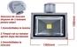 Proiector LED 20 W de exterior cu senzor de miscare la doar 89 RON in loc de 209 RON