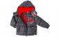 Geaca groasa iarna baieti, 3 ani, 98 cm, Spiderman, gri