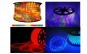 Furtun luminos cu joc de lumini, diverse culori - 10 m