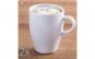 Set 2 cani ceai/cafea, Quasar&Co., portelan, 320 ml, alb