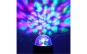 Felinar LED si RGB Disco cu panou solar