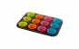 Tava 12 briose + forme silicon