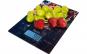 Cantar de bucatarie ECG KV 1021 Berries, 5 kg, precizie 1g, TARA, afisaj LCD, sticla securizata 3mm
