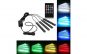 Kit Iluminare Ambientala  Reflection Vision® SMD RGB LED Interior, Multicolor, Telecomanda