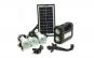 Kit panou solar cu 3 becuri, lanterna