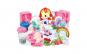 Set plastilina multicolora pentru a face modele cu ponei, pentru fetite, ATS + 3 ani