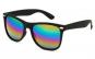 Ochelari de soare Negri Wayfarer Passenger cu lentile sidefate