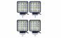 SET 4 Proiectoare LED 48w auto pentru Offroad, vanatoare, pescuit, utilaje, etc