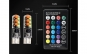 Set 2 becuri pozitie LED RGB, colorate + Telecomanda Inclusa