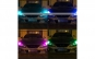 Set 2 becuri pozitie LED RGB