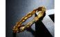 Bratara Catusa dublu placata aur 24K