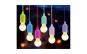 Set 4 becuri LED portabile cu snur color