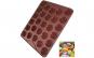 Tava copt Macarons, foaie copt macarons, Quasar&Co., 27 de forme rotunde, forma pentru prajituri/fursecuri, folie macarons rezistenta la temperaturi de pana la 250 grade C, 29 x 26 cm, tava silicon, maro Black Friday Romania 2017