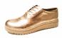 Pantofi aurii, din piele naturala, cu talpa ortopedica - usori, comozi, cu design modern