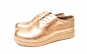 Pantofi aurii - din piele naturala