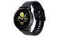 Curea Silicon Premium MTP Black 20mm Quick Release, Smooth, pentru Samsung Galaxy Watch 42mm