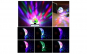 Mini bec disco cu lumina multicolora
