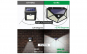 Lampa solara de perete 100 leduri