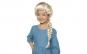 Peruca impletita Elsa Frozen
