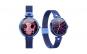 Smartwatch dama AK22 luxury rezistent la apa, functie fitness, notificari, control muzica, calendar menstrual, Colmi, blue Black Friday Romania 2017