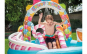 Piscina gonflabila EVO Intex Candy, pentru copii, 295 x 191 x 130 cm + accesorii joaca