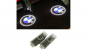 Lampi led logo portiere dedicate BMW X5