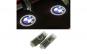 Lampi led logo portiere dedicate BMW ser