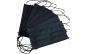 Set de 50 de masti protectie negru, 3 straturi, 3 pliuri de unica folosinta