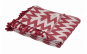Cuvertura pled, HR-PLD127-RED, 127 x 152 cm, Rosu