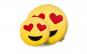 Perna decorativa - emoji indragostit