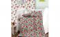 Set lenjerie pentru bebelusi cu aparatori laterale  Garbarita  bumbac 100%