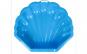 Cutie pentru nisip, scoica, albastru, 87