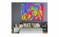 Tablou Canvas Jocul Culorilor 95 x 125 c