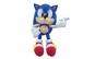 Jucarie de plus Sonic, 25 cm + Selfie ring albastru