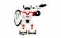 Robot de jucarie cu sunete lumini 24 cm