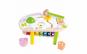 Jucarie Montessori 5 in 1 banc cu ciocanel si bile + sortator + labirint + cuburi rotative + xilofon
