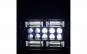 Set 2 proiectoare LED, 192W