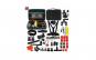 Set 50 de accesorii GoPro, geanta transport, negru