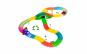 Pista flexibila - 165 piese +masinuta cu LED-uri ce se imbina foarte simplu si usor