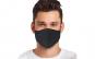 Masca de protectie textila din bumbac 100%, reutilizabila, Neo Cotton, Neagra