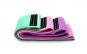 Set 3 benzi elastice pentru antrenarea picioarelor, muschilor fesieri
