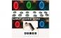 Pachet Modulator FM Hands Free Bluetooth 4 in 1+ Cadou 4 leduri jante, 12 baterii incluse