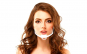 Set 10 Masti transparente reutilizabile pentru gura si nas, cu suport pentru barbie si elastic, bandou alb, Neo Horeca