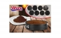 Set forma de tort cu 8 baze detasabile VANORA + 2 piese de bucatarie Heinner, la numai 99 RON in loc de 179 RON